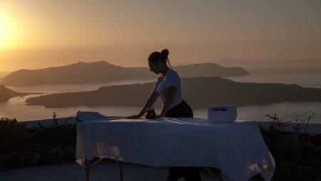 Spa Therapist At Private Nafsika Villa Santorini