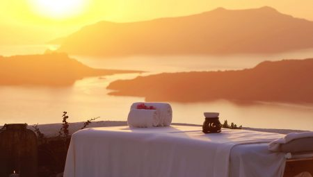 Spa With View Over The Volcano From Private Villa