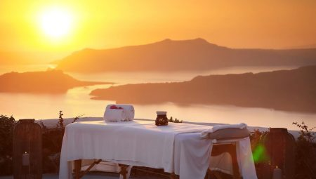 Spa With Sunset View Santorini