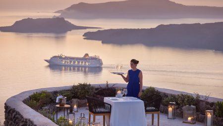 Private Dinner On The Caldera Cliff Santorini